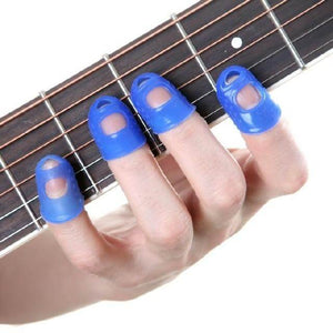 Guitar finger protector (Finger caps) with free shipping guitarmetrics Navy Blue