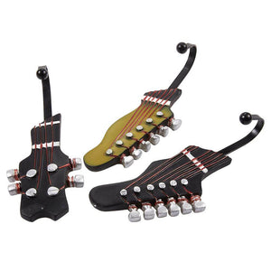 Guitar headstock shaped hooks guitarmetrics