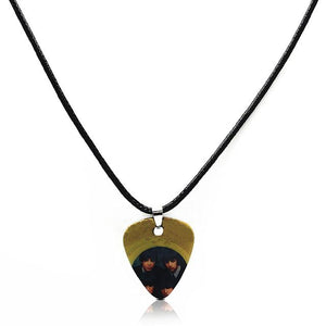 Guitar pick necklace with free shipping guitarmetrics