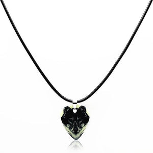 Guitar pick necklace with free shipping guitarmetrics Wolf