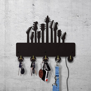 Guitar shaped wall hooks guitarmetrics