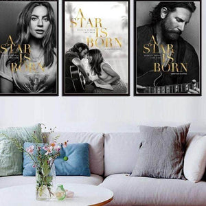 Kainon™ A Star Is Born Movie Poster guitarmetrics