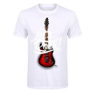 Let's Rock t shirt Costees™ guitarmetrics 2 2 S
