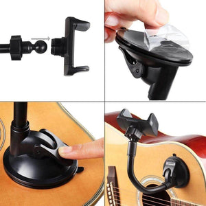 Mr. Power™ Guitar smartphone holder guitarmetrics