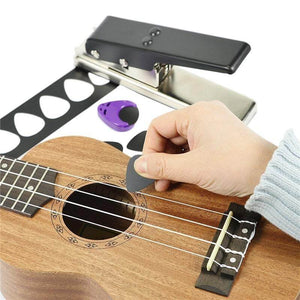 Pickmob™ Guitar pick puncher with free shipping guitarmetrics