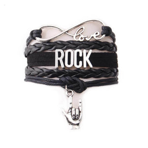 Rock Music Bracelet guitarmetrics Rock Hand