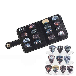 SOACH™ Pick wallet for guitarists guitarmetrics BPJ1 0.46mm