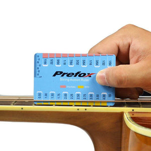 String ruler (Action adjusting tool) Prefox™ guitarmetrics Plastic