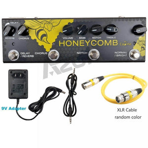 The caline honeycomb acoustic guitar effects pedal guitarmetrics
