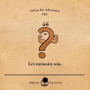Advice for Adventure #05 - Let curiosity win.