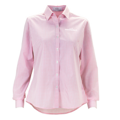 Ladies' Easy Care Gingham Check Shirt - Women in Tech