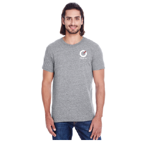 Threadfast Unisex Short Sleeve - Grey Triblend