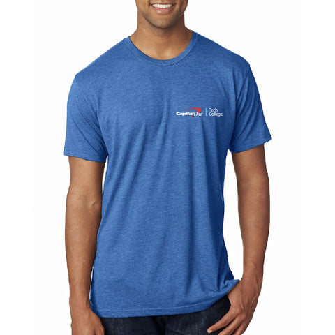 Tech College Men's TriBlend Tee