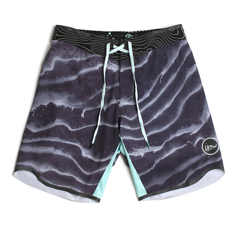 Carbon Premier Boardshort // Black