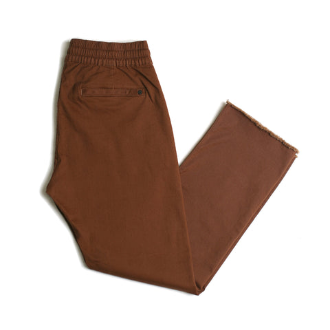 Chapter Cropped Chino // Chestnut