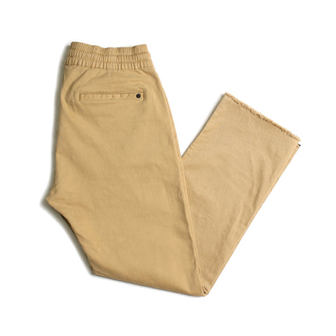 Chapter Cropped Chino // Khaki