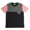 Del Ray Pocket Tee // Charcoal