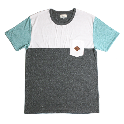 Del Ray Pocket Tee // Grey Heather