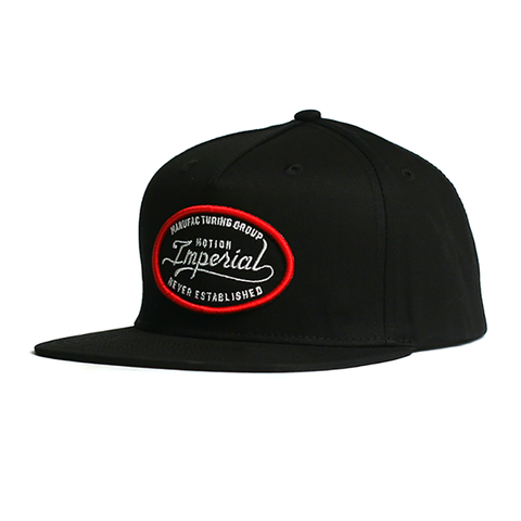 Industry Snap Back // Black