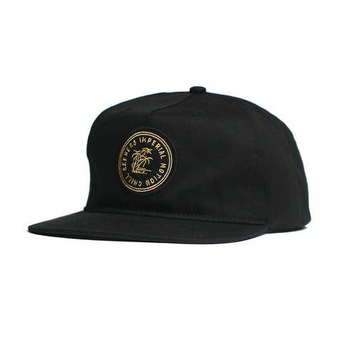 Chill Seeker Snap Back // Black