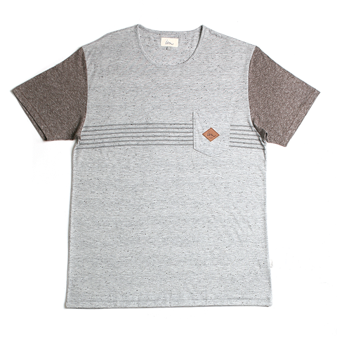 Trimmer Pocket Tee // Grey