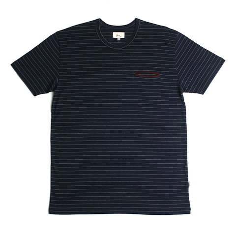 Hemisphere Pocket Tee // Navy