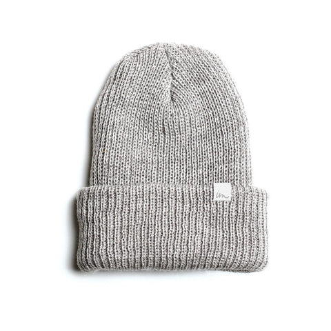 Norm Beanie  //  Grey Heather