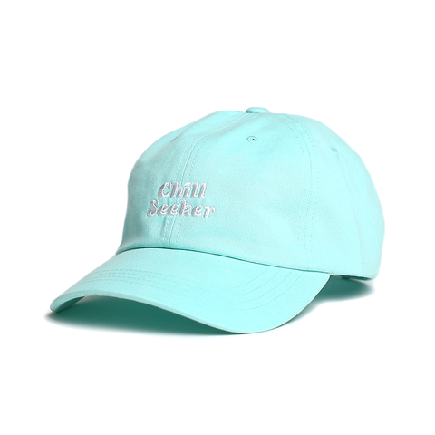 Seeker Type Dad Hat // Mint