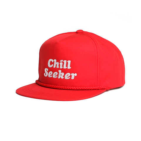 Seeker Type Snapback // Red