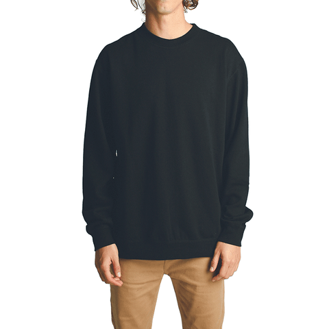 All Day Crew Neck // Black