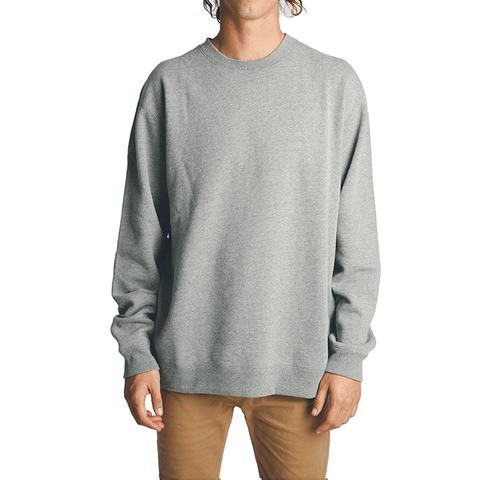 All Day Crew Neck // Gunmetal
