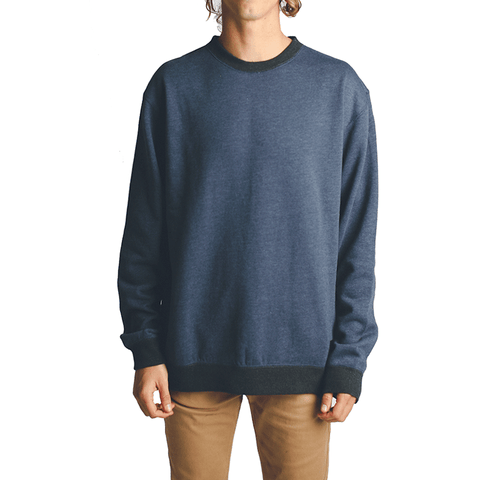 All Day Crew Neck // Navy