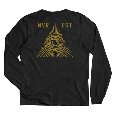 All Seeing LS Tee  /  Black