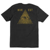 All Seeing T-Shirt  /  Black