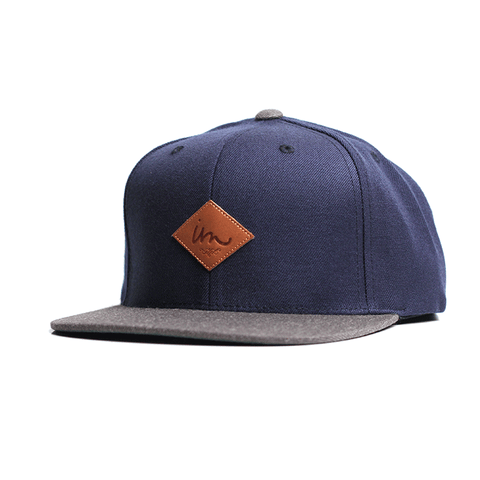 Alvin Snap Back // Navy/Charcoal