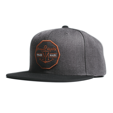 Barter Snap Back // Charcoal/Black