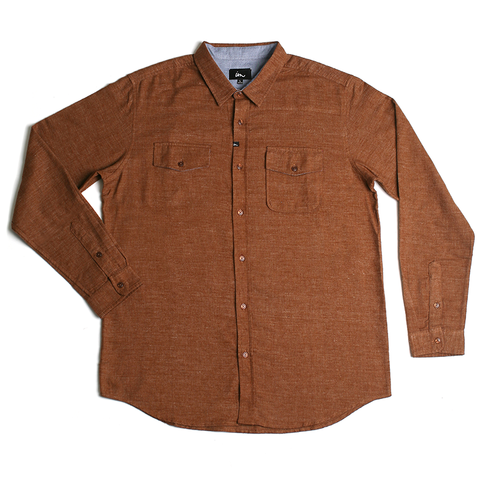Canby Flannel // Tobacco