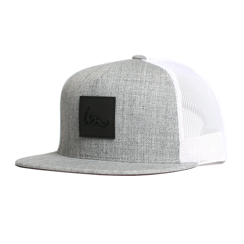 Caste Trucker // Grey+White