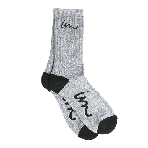 Curser Socks // Grey Heather