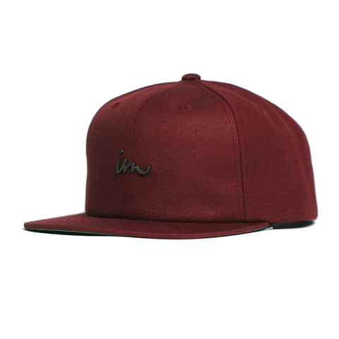 Deception Snap Back // Maroon