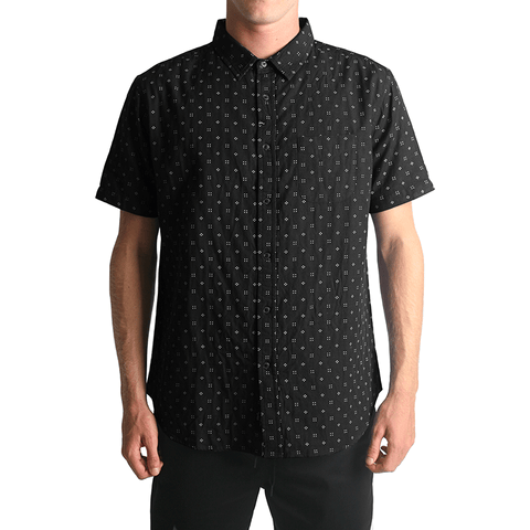 Doubles SS Woven // Black
