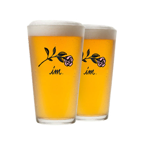 Farewell Pint Glasses (2pcs)