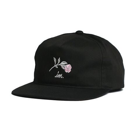 Farewell Snap Back // Black