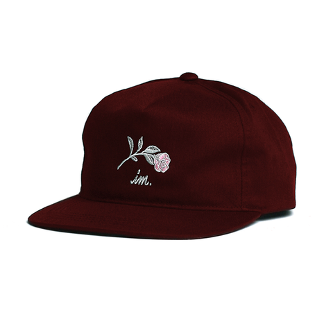 Farewell Snap Back // Burgundy
