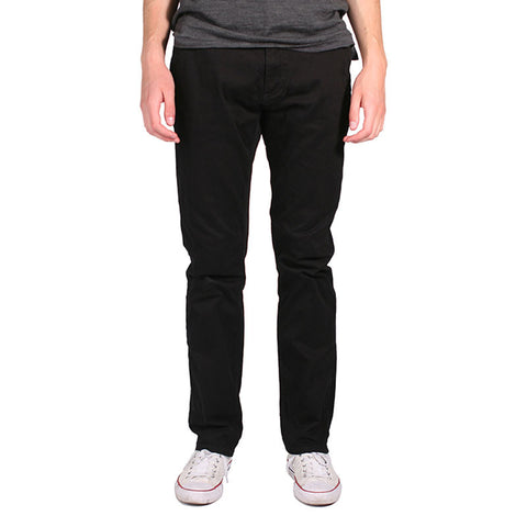 Federal Straight Fit Chino // Black