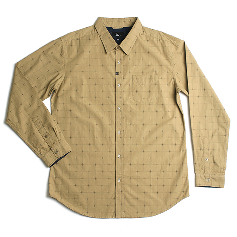 Gallager LS Shirt // Tan