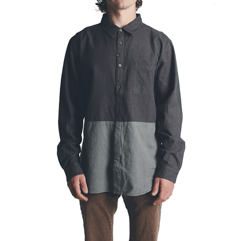 Hodge LS Workshirt // Charcoal