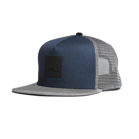 Lark Trucker // Navy/Grey/Grey