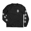 Wolf LS T-Shirt // Black