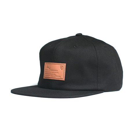 Latitude Strap Back // Black